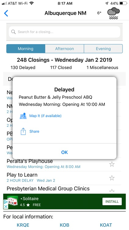 RUClosed - school/work closed? screenshot-5