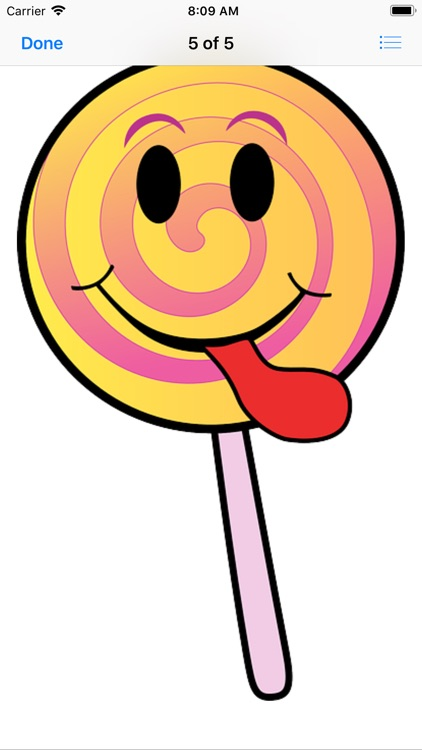 Sweet Lollipop Stickers screenshot-6