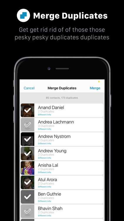 addappt: Live Contacts+Weather