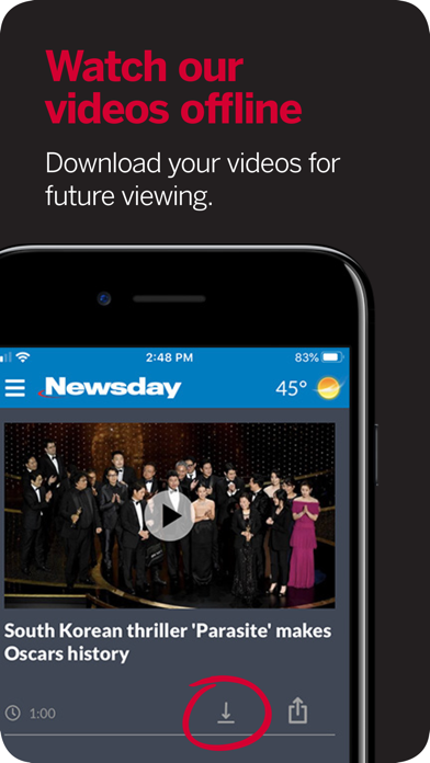 Newsday Screenshot