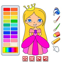 My Coloring Pages Book Game