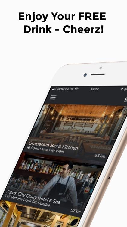 Cheerz App - Free Drinks screenshot-4