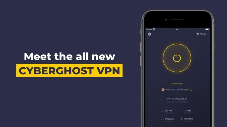 VPN by CyberGhost - WiFi Proxy screenshot-0