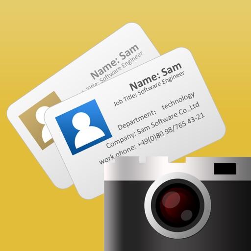 Visitenkarten Scanner-OCR Card