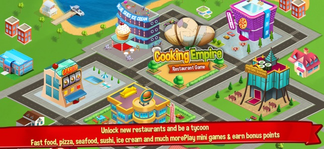 Cooking Empire Restaurant Game On The App Store