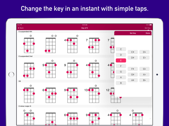 UkeLib Chords Pro Screenshots