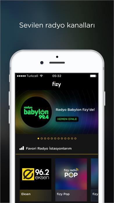 Screenshot for fizy – Müzik & Video in Turkey App Store