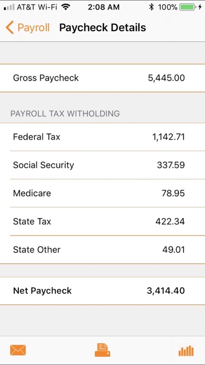 Paycheck Lite : Mobile Payroll screenshot-4