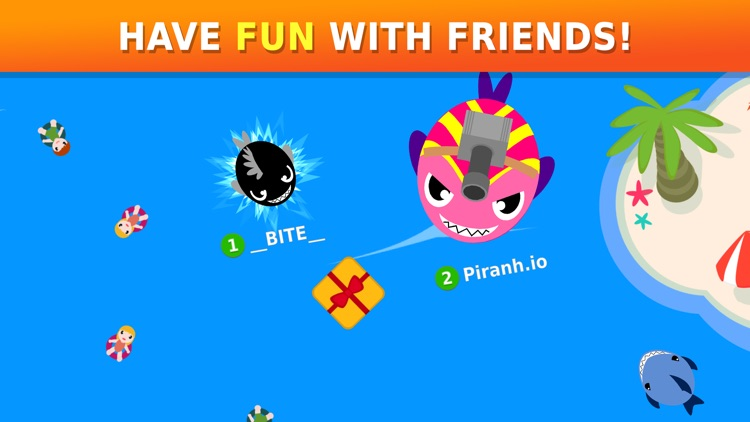 Piranh.io: Fun Online Battle!
