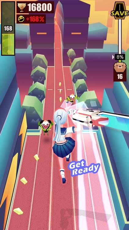 Slash & Girl - Endless Run screenshot-3