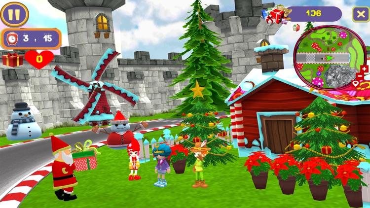 Santa Christmas Infinite Track screenshot-6