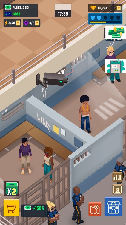 Idle Police Tycoon - Cops Game screenshot-5