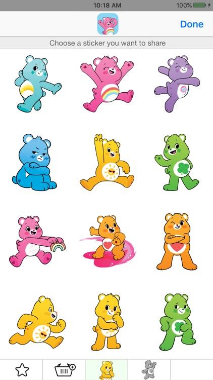 Care Bears Sticker Share screenshot-4