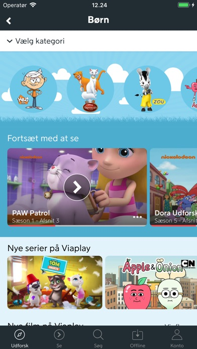 Screenshot for Viaplay in Denmark App Store