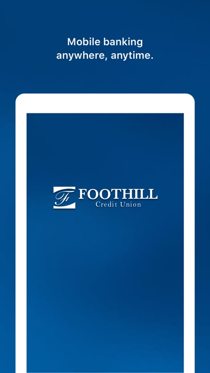 Foothill Credit Union screenshot-3