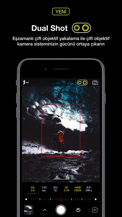 Screenshot for ProCam 6 in Turkey App Store