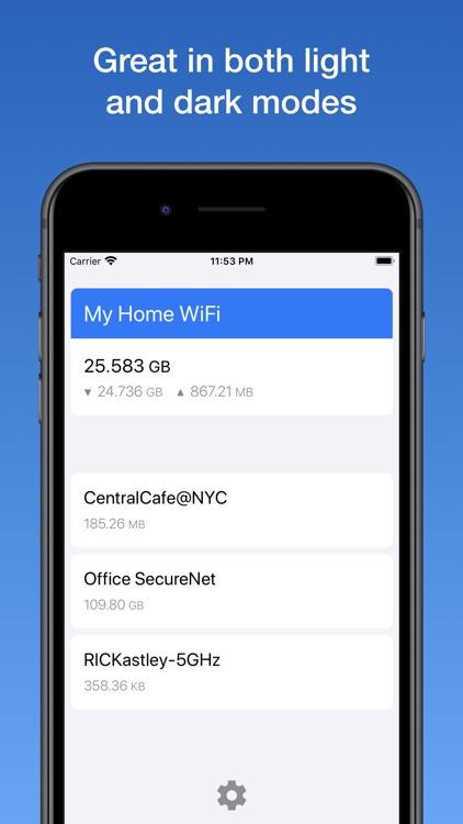 WifiMan from DataMan screenshot-5