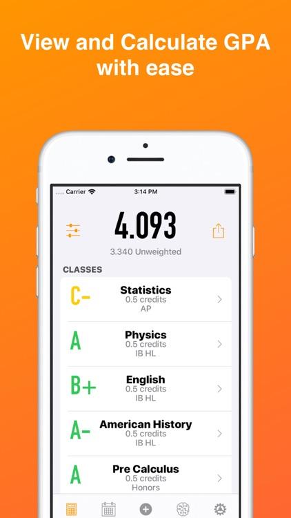 GradePoint-Easy GPA Calculator