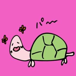 Vitality Turtle Sticker