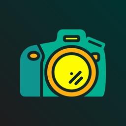 Disposable camera filter app