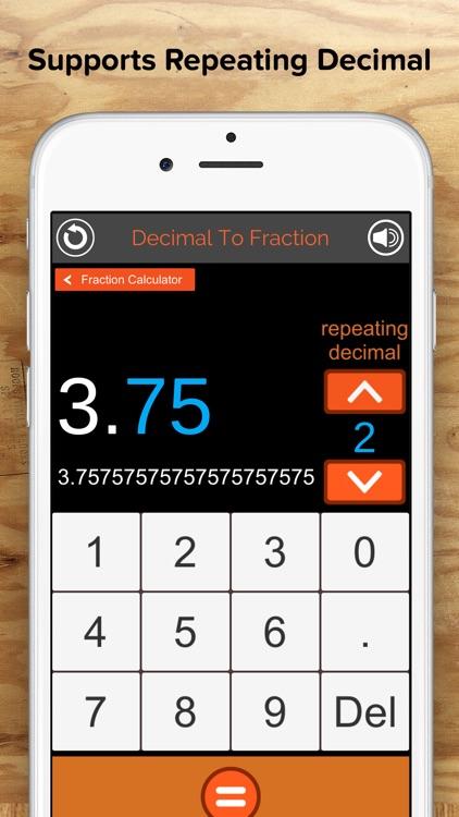 Fraction Calculator + Decimals screenshot-3