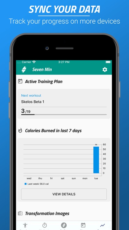 7 Minutes Workouts screenshot-5