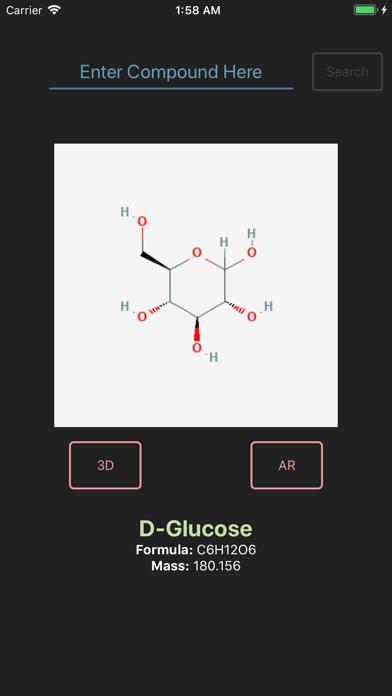 Screenshot for Chemodel 3D & AR in Hong Kong App Store