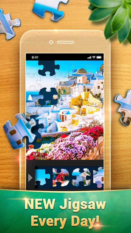 Magic Jigsaw Puzzles - Game HD screenshot-0
