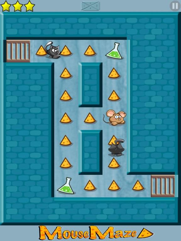 Mouse Maze - Top Brain Puzzle-ipad-0
