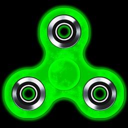 Fidget Spinner Glow