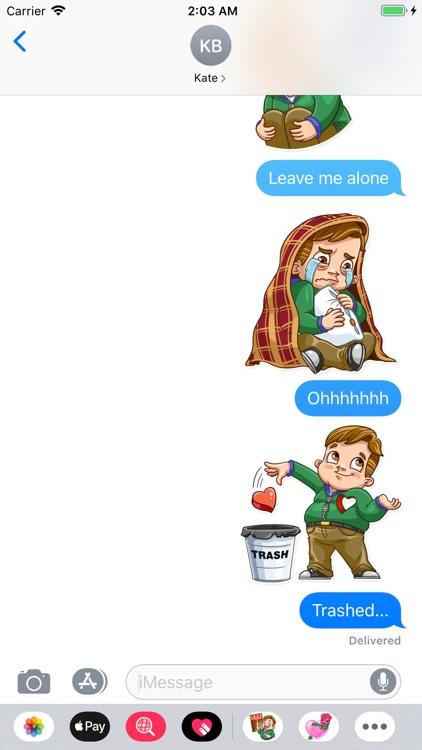 Valentine Day Fool Stickers screenshot-6