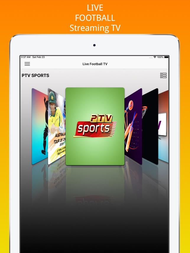 Live Football Streaming Tv on the App Store