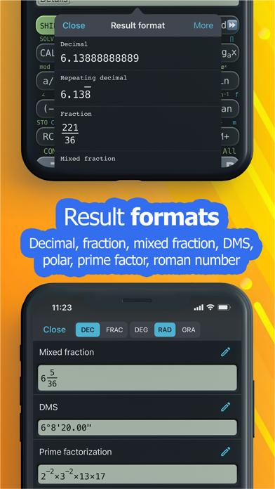 NCalc Taschenrechner PlusScreenshot von 6