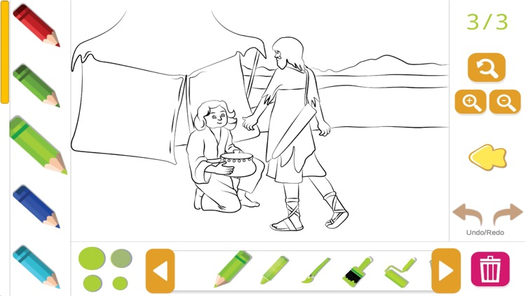 Bible Coloring for Kids screenshot-6