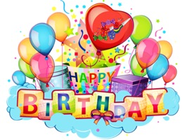 Happy Birthday Stickers Pack an amazing collection with great stickers for iMessage