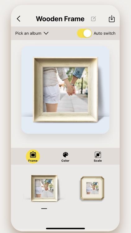 Engrave -My Photo Frame Widget screenshot-4