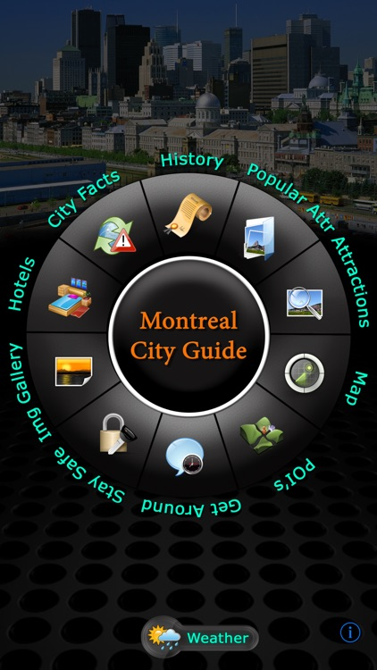 Montreal Offline Travel Guide screenshot-0
