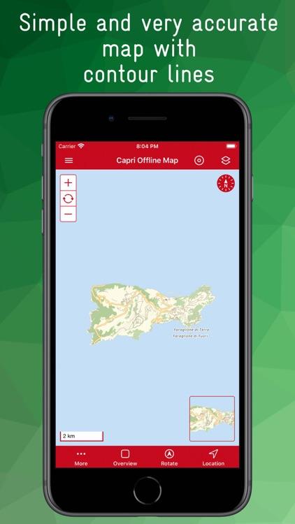 Capri Offline Map