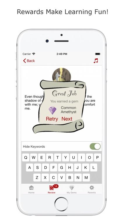 Bible Memory Kids screenshot-3