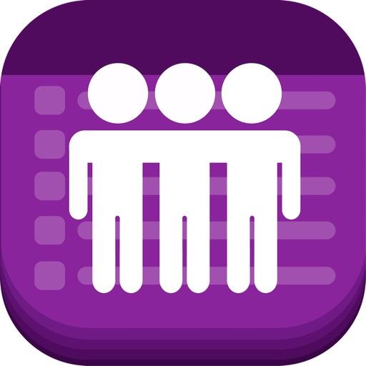 Text Invite Maker: PurpleSlate