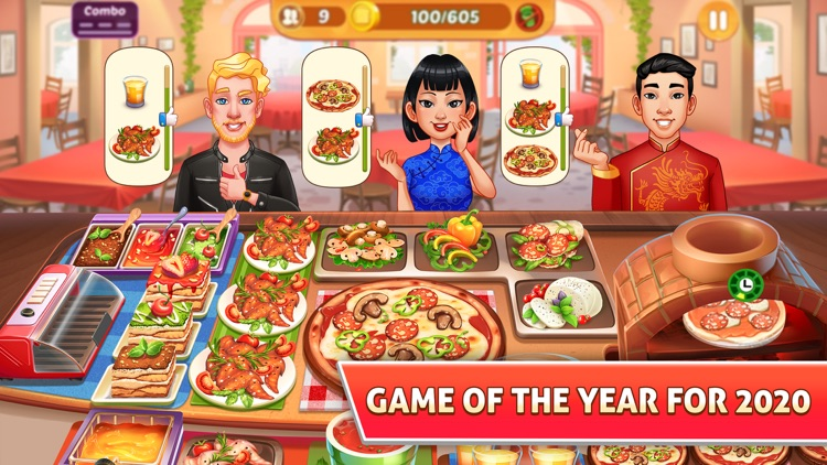 Kitchen Craze: Cooking Games