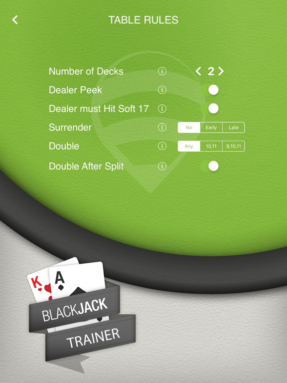 BlackJack Trainer 21 screenshot