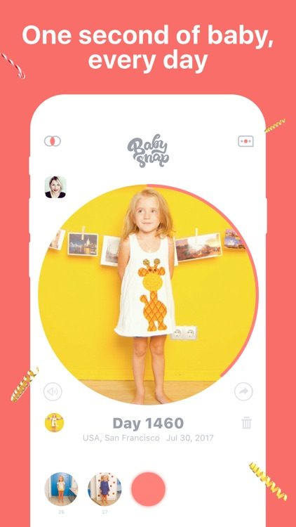 Baby Snap: Family Video Diary screenshot-0