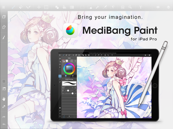 Screenshot #4 pour MediBang Paint for iPad