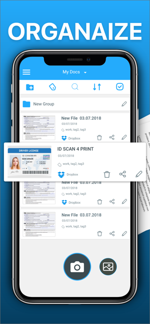 ‎Scanner App To PDF: TapScanner Capture d'écran