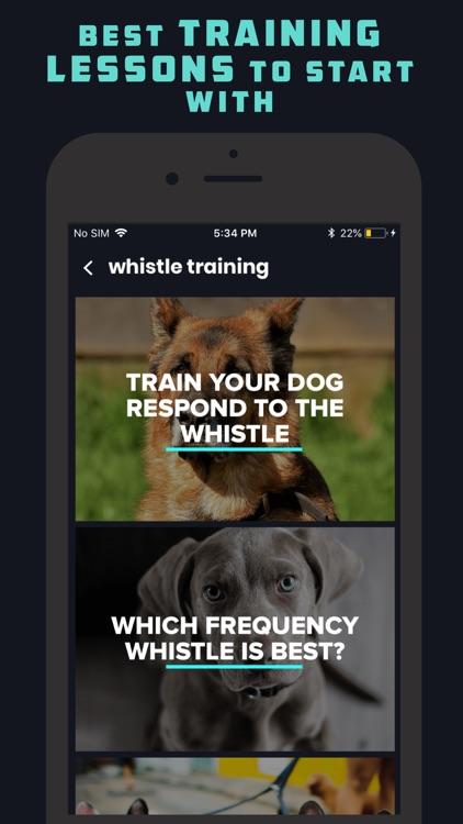 Dog Whistle & Clicker screenshot-2