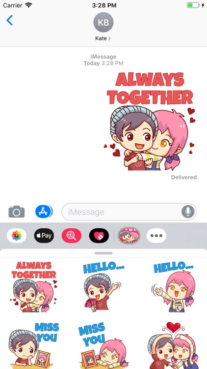 Story Love Stickers Pack screenshot-4