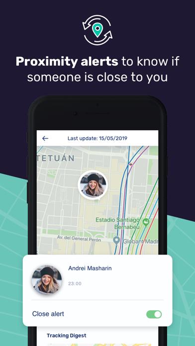 GeoFind: Location tracker Screenshot