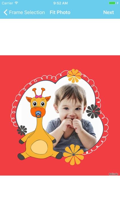 Baby Photo Frames & Editor screenshot-3