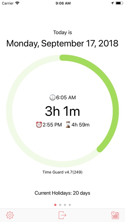 Time Guard - your time tracker